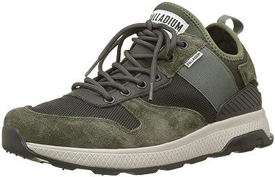 0adebb7662f Palladium Men's Ax_eon Army Runner Trainers Green (Beluga/Olive  Night/Vetivr P51)
