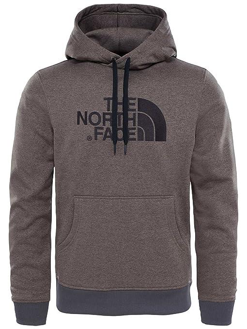 North Face M MC Drew Peak Hoodie - Sudadera, Hombre, Marrón - (Falcon