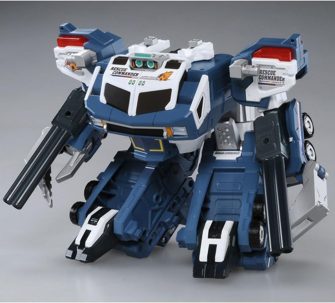 Takara Tomy Tomica Hyper Rescue Drive Head Transporter Gaia