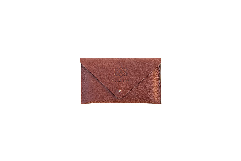 Kyla Joy Envelope Clutch Premium Leather Handbag
