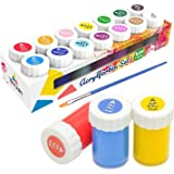 Tritart Set di 14 colori acrilici per bambini e adulti