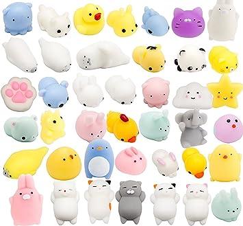 SolSun SQUISHY - 15 piezas aleatorias - Regalo original para niños y adultos - Best Squishies Animales Silicona: Amazon.es: Juguetes y juegos