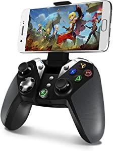 Game Controller Wireless, Gamesir Bluetooth Gamepad Joystick, for Android Phone Tablet/PC Windows 7 8 10 / PS3 / TV Box (G4) No 2.4GHz Dongle