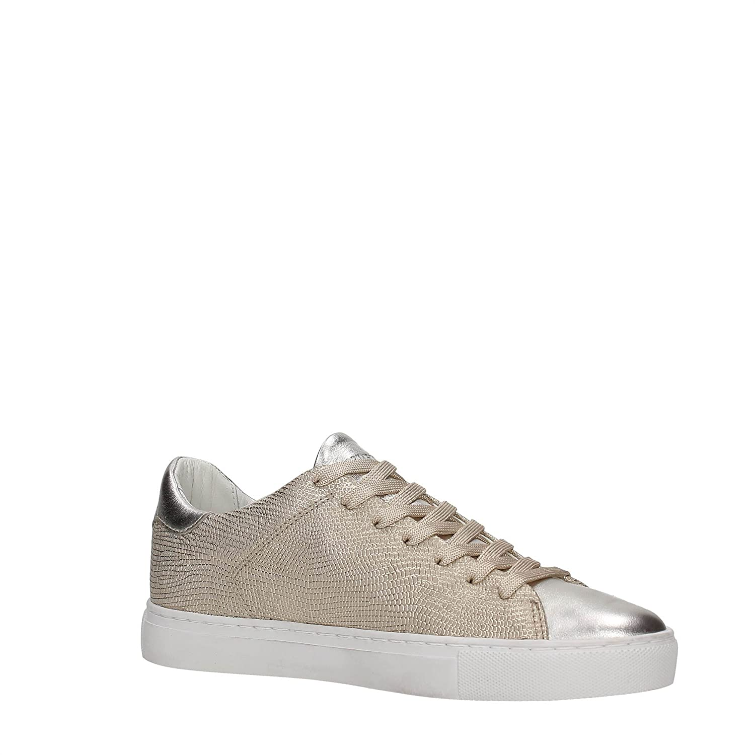 Crime 25205s17b Sneakers Donna Pelle Platino Platino 40