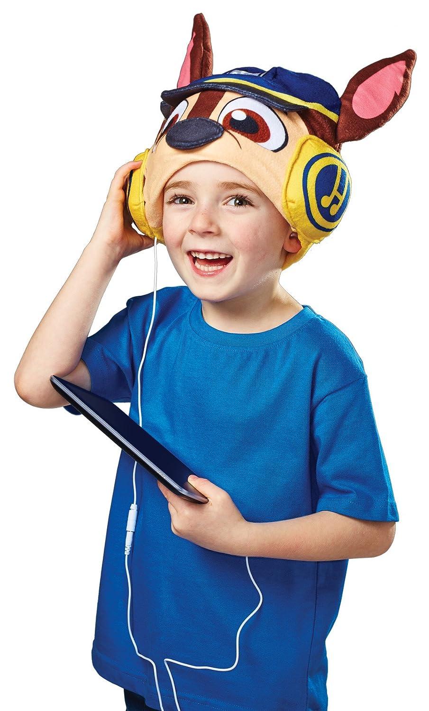 Headphone Hats - Cool Music - Hec004 - Pat Patrouille Chase - Bonnets avec Écouteurs Intégrés