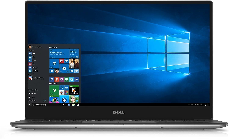"Dell XPS9350-10673SLV 13.3"" 3200x1800 Laptop (Intel Core i7-6560U 2.2GHz Processor, 16 GB RAM, 1 TB SDD, Windows 10 Microsoft Signature Image) Silver (Certified Refurbished)"