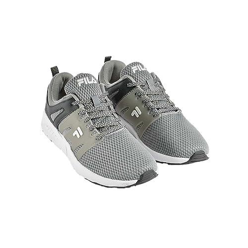 Zapatos Hombre Zapatillas FILA en Lona Gris 1010285-6QW: Amazon.es: Zapatos y complementos