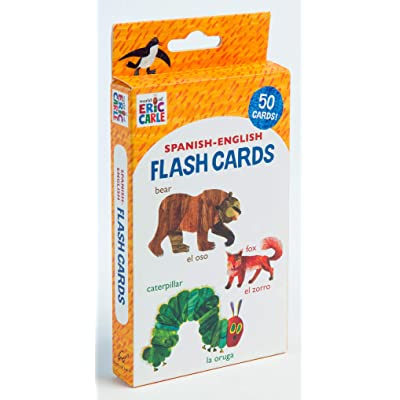 World of Eric Carle (TM) Spanish-English Flash Cards: (Bilingual Flash Cards for Kids, Learning to Speak Spanish, Eric Carle Flash Cards, Learning a Language): Carle, Eric: Toys & Games
