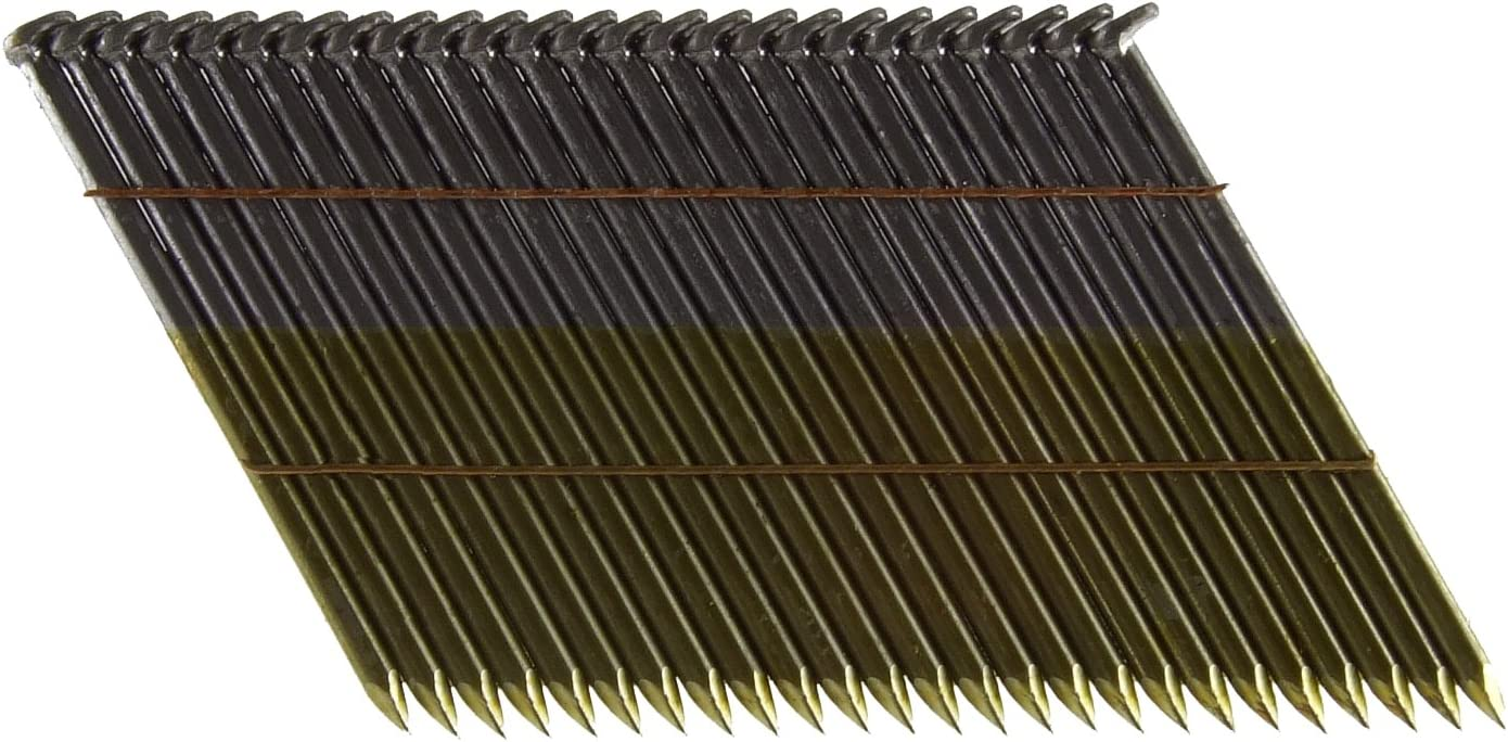 B0000225EV B&C Eagle 314X131/28 Offset Round Head 3-1/4-Inch x .131 x 28 Degree Bright Smooth Shank Wire Collated Framing Nails (2,000 per box) 71Jlo2BMNZ5L