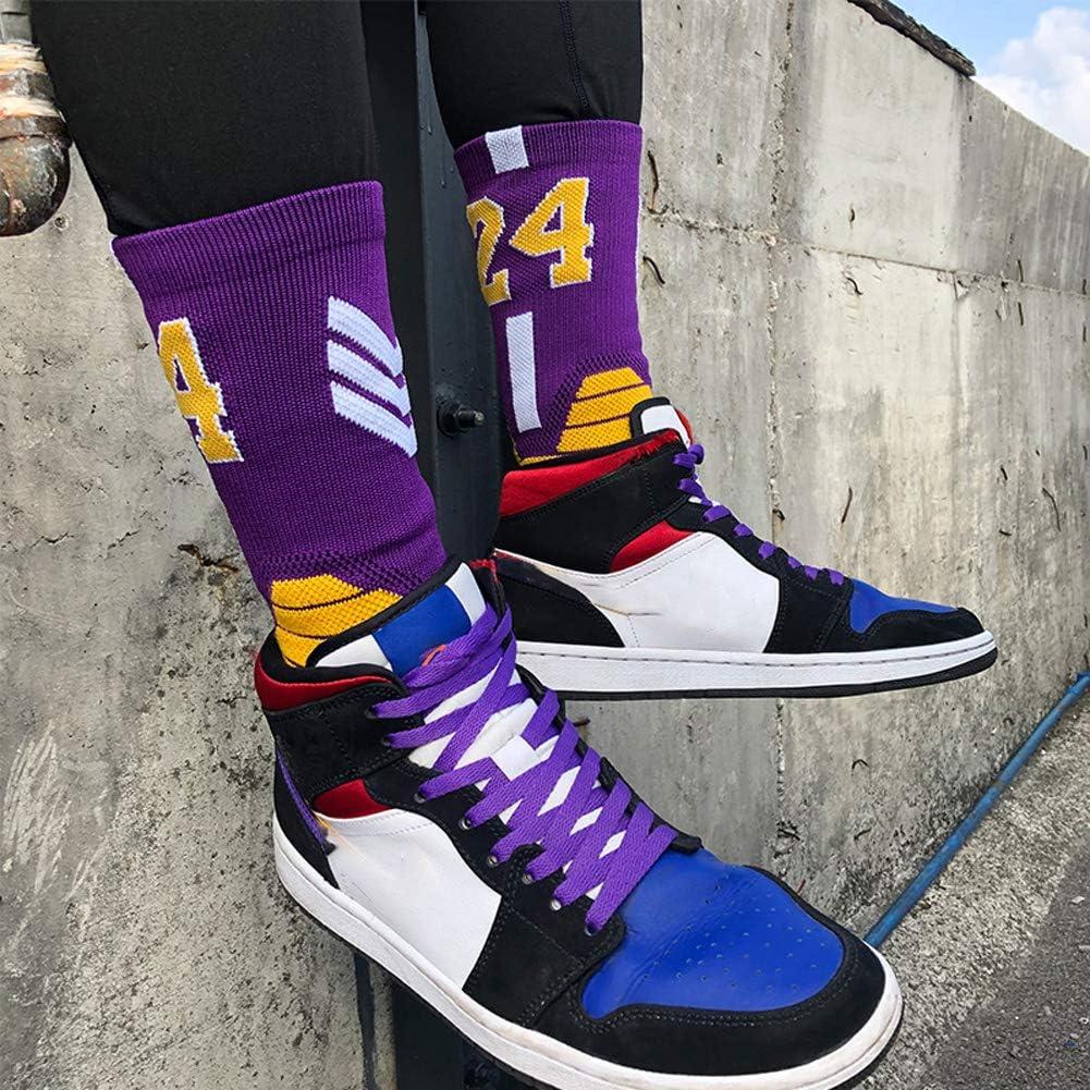 Basketball Socken mit Basketball Logo Crew L/änge-Clippers WWJJE 2er Pack Socken