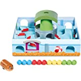 TOMY Hamster Race - Family Skill Game - Classic Labyrinth Game - High Quality Kids Toys for Age 5 and up