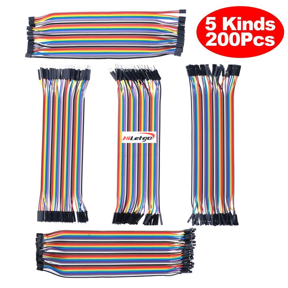 best rated in interfaces helpful customer reviews amazon Lawn Mower Charging System Diagram hiletgo 200pcs 5x40pcs breadboard jumper wires dupont wire male to male male to female