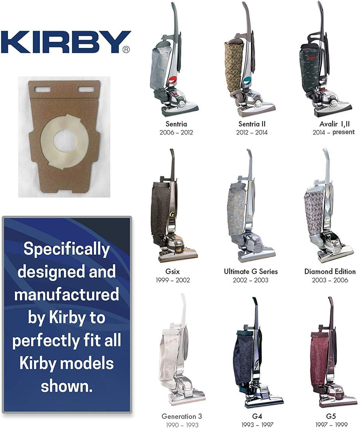 Kirby - Bolsa Universal Hepa para G3, G4, G5, G6, G7, Ultimate ...
