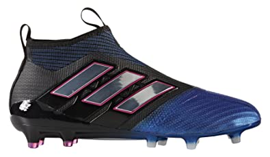 Ace 17+ Pure Control FG Football Boots - Core Black/White/Blue -