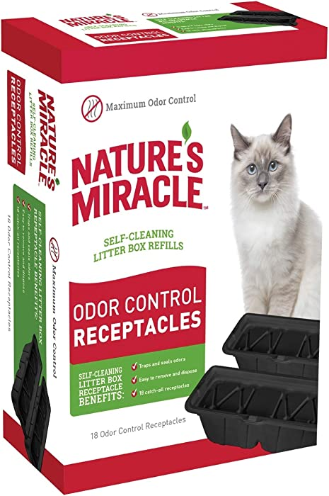 The Best Natures Miracle Litter Box Receptacles