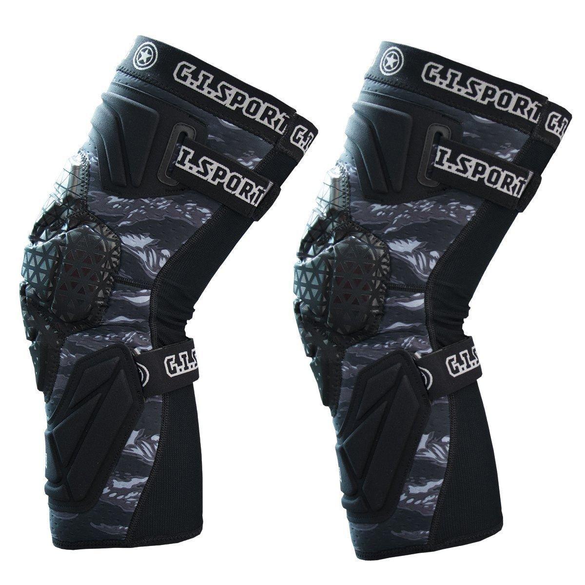 GI Sportz Race 2.0 Knee Pads Black (X-Large) by GI Sportz