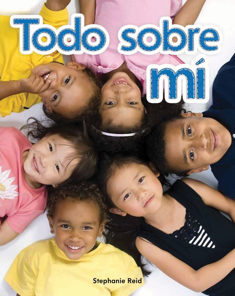 Todo sobre mí (All About Me) Lap Book (Spanish Version) (Literacy, Language, and Learning) (Spanish Edition) by Teacher Created Materials