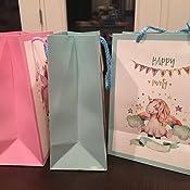 Amazon.com: Unicornio bolsas de fiesta, Paquete de 12 bolsas ...