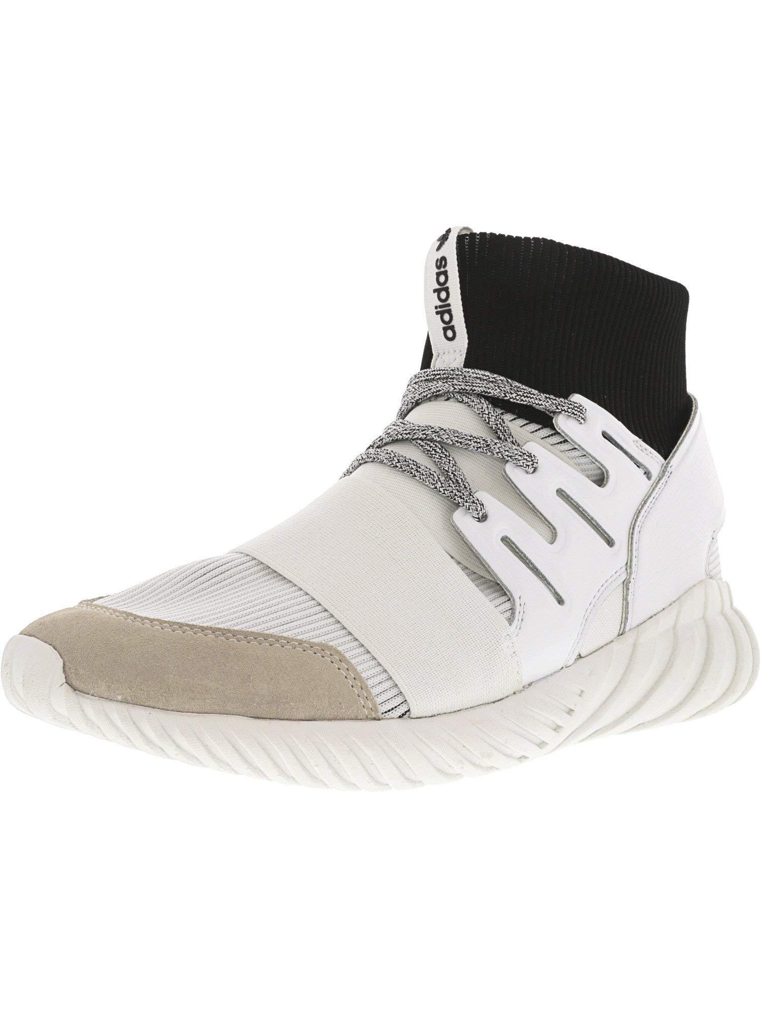 6050e096624e adidas Men's Tubular Doom Footwear White/Core Black High-Top Fashion  Sneaker - 12M