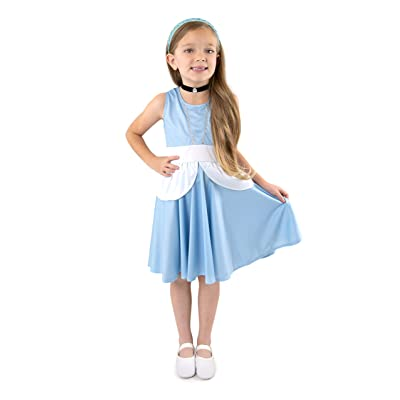 Little Adventures Cinderella Princess Twirl Dress (2): Toys & Games