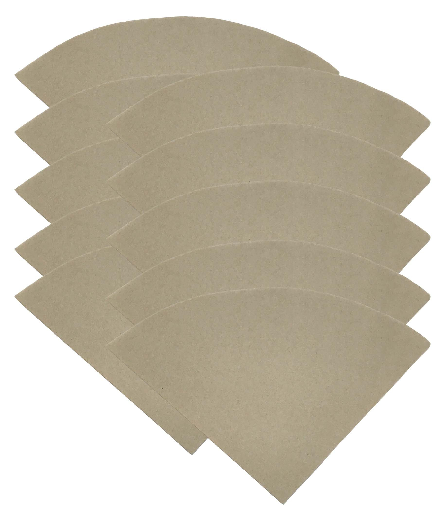 1000PK Compatible Replacement Unbleached Paper Coffee Filters For 6, 8 & 10 Cup Chemex-Brand Coffee Makers, by Think Crucial