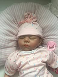 Amazon.com: SanyDoll Reborn Baby Doll Soft Silicone 22