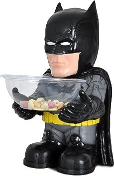 Batman - recipiente para chucherías para fans de superhéroes figura decorativa en estuche de regalos 50 cm: Amazon.es: Juguetes y juegos