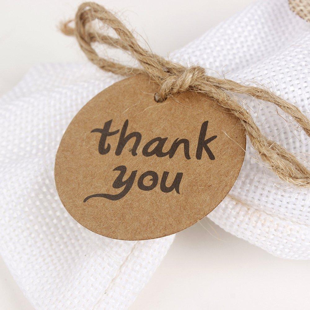 100//pcs Anhänger Kraftpapier Gift Tag Etiketten Geschenkanhänger-Geschenkkarten*
