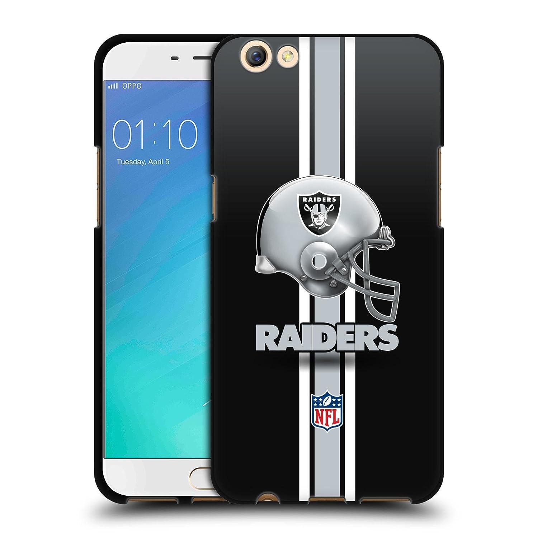 Oficial NFL Oakland Raiders Logo Soft Gel Funda NEGRO para Oppo ...