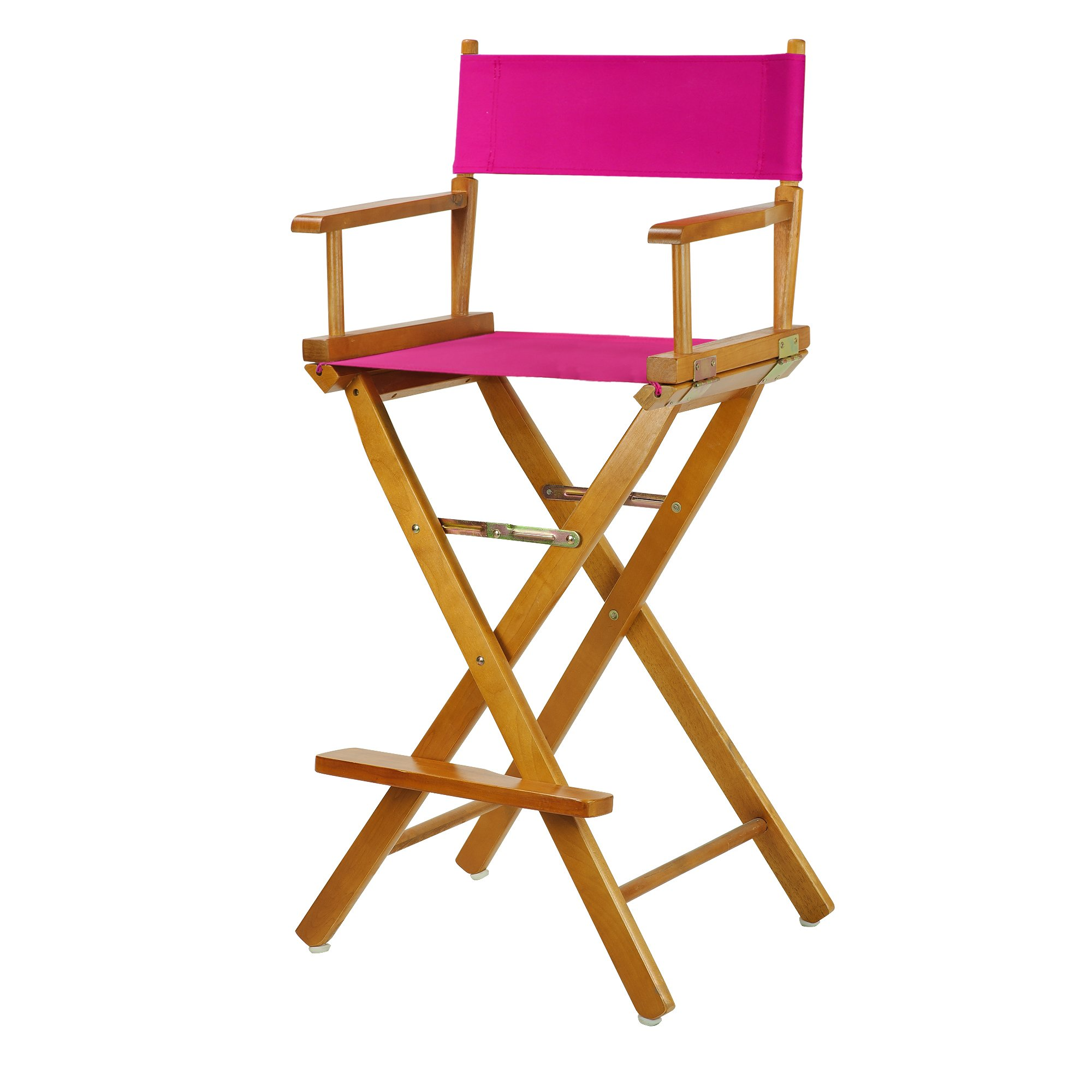 Casual Home 230-05/021-30 Director Chair, 30''-Bar Height, Magenta