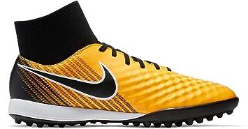 Nike Magistax Onda II DF TF - Zapatillas de fútbol Sala, Hombre, Naranja -