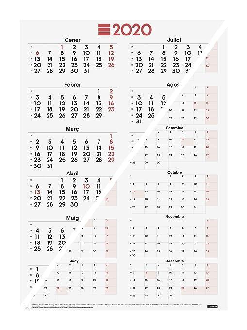 Amazon.com: Finocam – Póster de calendario mixto – Escribir ...