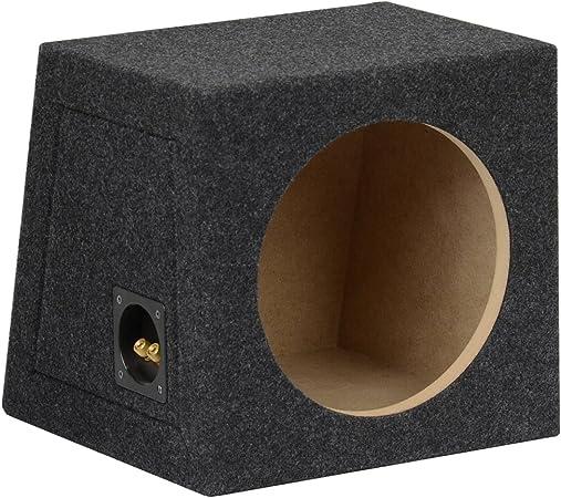 Geschlossenes Subwoofer Leergehäuse 10 25cm 20l Audio Hifi