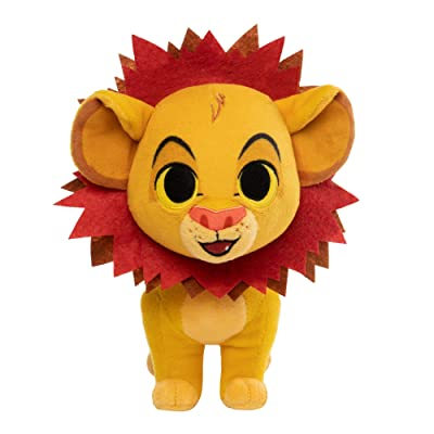 Funko SuperCute Plush: Lion King - Simba with Leaf Mane: Toys & Games