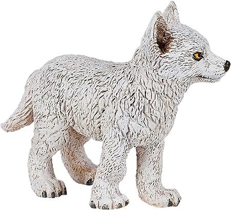 50228 jeune polarwolf-Neuf 2 Figurines-Animaux Sauvages PAPO 50195 polarwolf