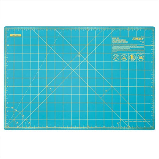 "12x18/"" Self Healing RM-CG OLFA Gridded Rotary Cutting Mat 1 Each"