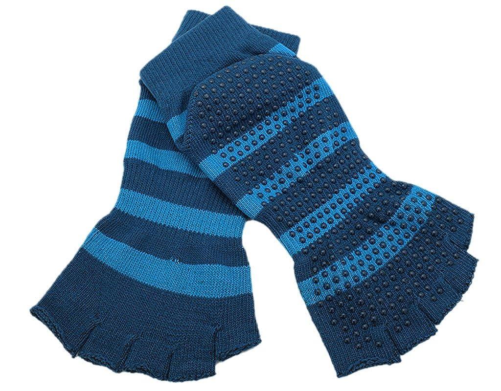 BONAMART1 or 4 Pack Men Women Unisex Split 5 open toes Tabi Grip open toe Socks