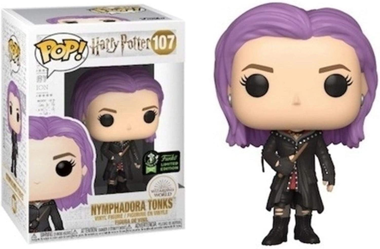 Funko POP! Harry Potter #107 - Nymphadora Tonks ECCC 2020 Compartido Exclusivo