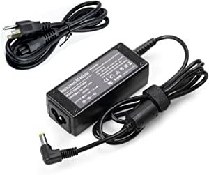 Magnetbest 19V 2.1A 40W AC Adapter Charger for Acer Z1402 P1VE6 E3-112 Series Notebook (with AC Cable)