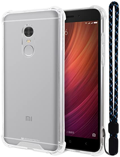 online store 48835 6bd08 Amazon.com: Xiaomi Redmi Note 4 Case, Mercury [Air Cushion] Crystal ...