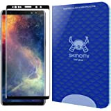 Galaxy Note 9 Screen Protector (3D Glass [Black])(1-Pack), Skinomi Tech Glass Screen Protector for Galaxy Note 9 Clear HD and 9H Hardness Ballistic Tempered Glass Shield