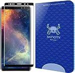 Skinomi TechGlass [1-Pack] [3D Glass - Black] Screen Protector for Samsung