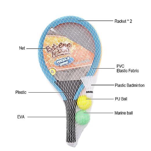 Amazon.com: Greatstar Badminton - Juego de tenis de tenis ...
