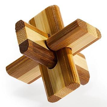 Puzzles & Geduldspiele Kleines Bambus Puzzle Firewood