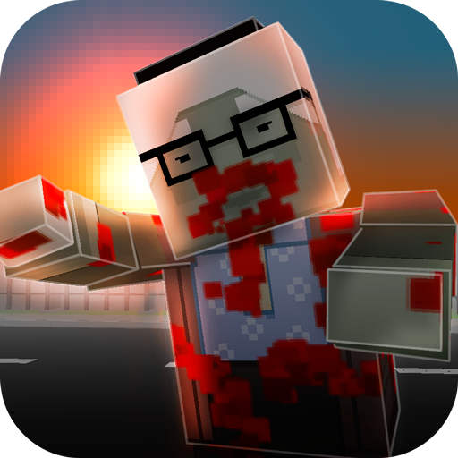 War of Cube Zombies 3D (Zombie Pizza)