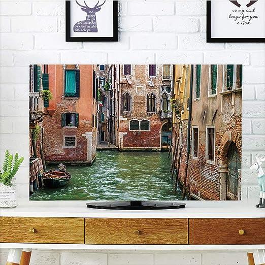 iPrint - Cubierta antipolvo para televisor LCD, Venecia, famosos ...