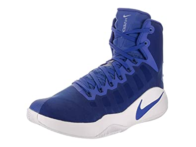 b16e0a560c29 Amazon.com  Nike Mens Hyperdunk 2016 Basketball Shoe-Blue White-11 ...