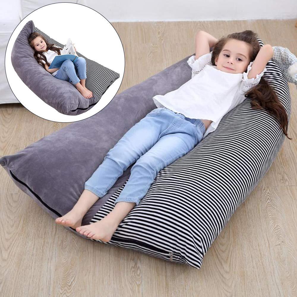 Littleduck Stuffed Bean Bag Kids Soft Velvet Toy Animal Storage Organizer Stuffie Seat Floor Foldable Chair Sofa Toy Cover