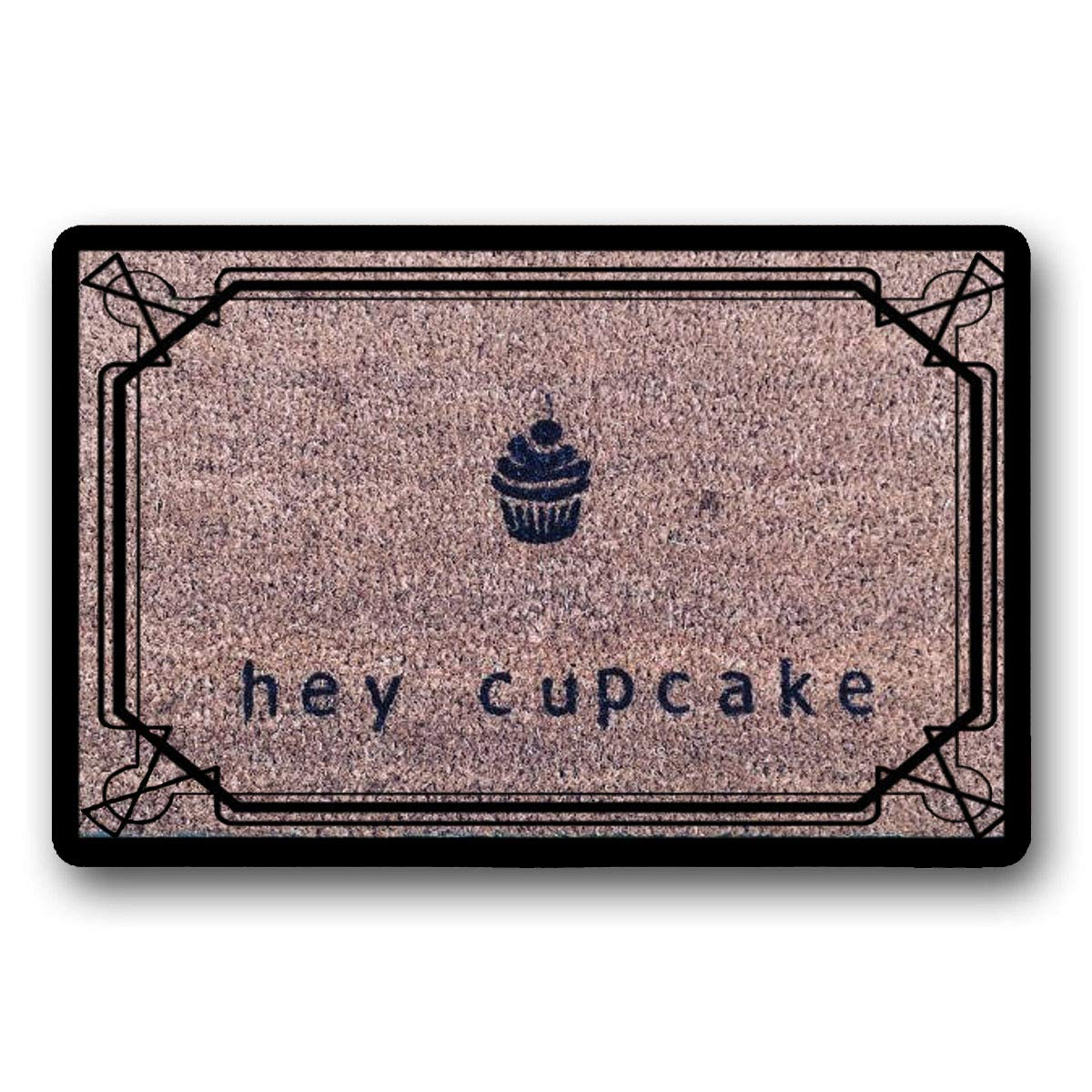 LSS Trading Hey Cupcake Doormat 23.6'' x 15.7'' by LSS Trading