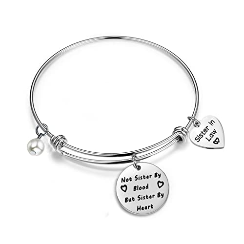 Amazoncom Gzrlyf Sister In Law Bracelet Not Sister By Blood But